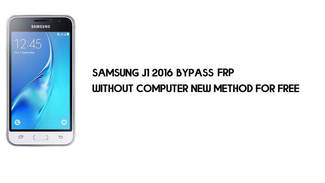 Samsung J1 2016 FRP Bypass   Google Account Unlock SM-J120 [Latest]