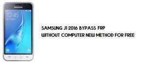 Samsung J1 2016 FRP Bypass | Google Account Unlock SM-J120 [Without Computer]