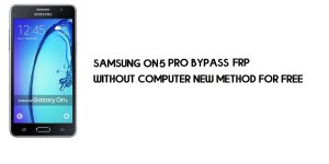 Samsung On5 Pro FRP Bypass | Google Account Unlock SM-G550 [Without Computer]