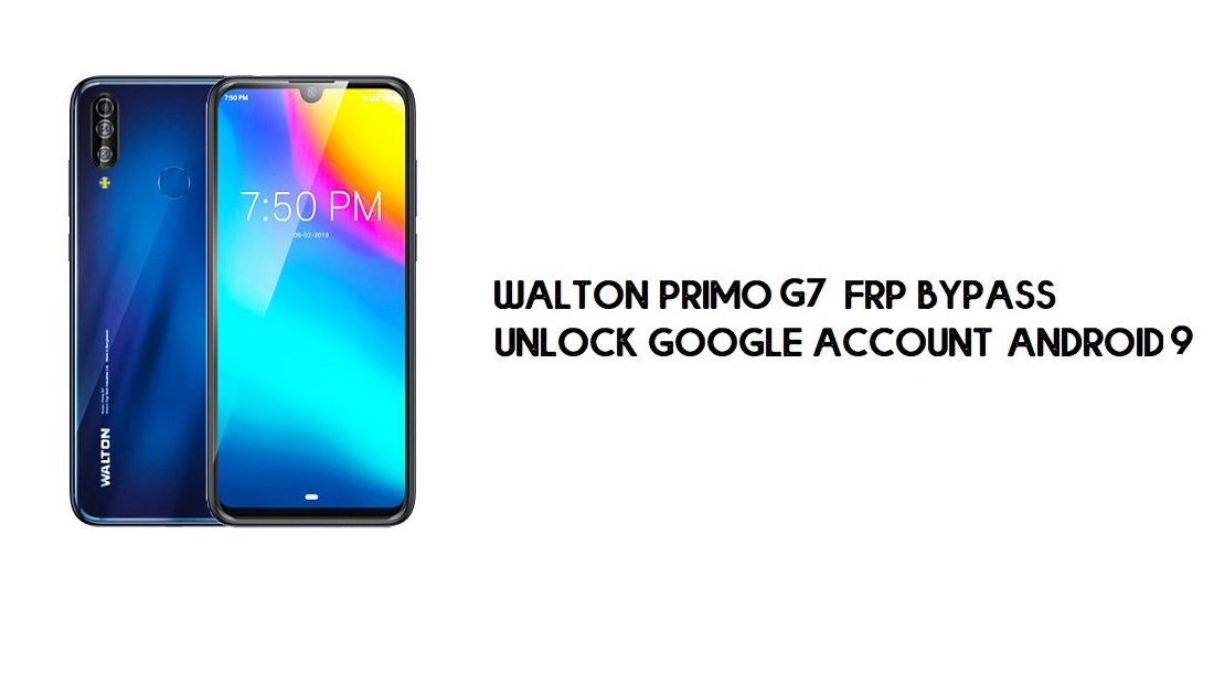 Walton Primo S7 FRP Bypass Without PC | Unlock Google – Android 9