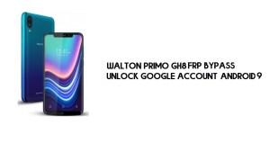 Walton Primo GH8 FRP Bypass Without PC | Unlock Google – Android 9