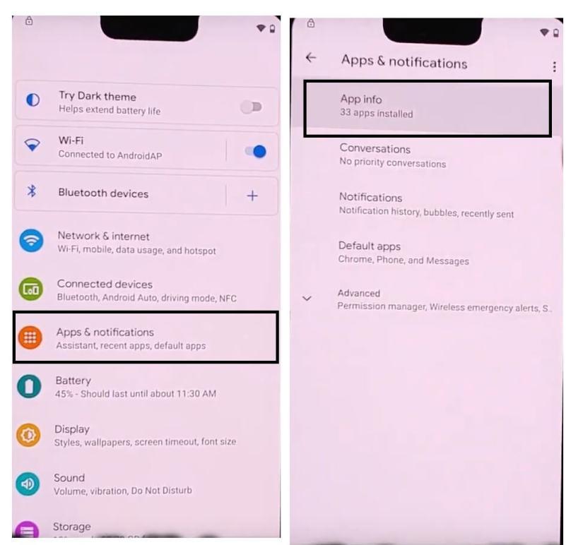 Tap App info