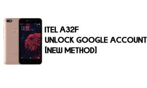 Itel A32F FRP Bypass - Unlock Google Account – Android 8.1 Go