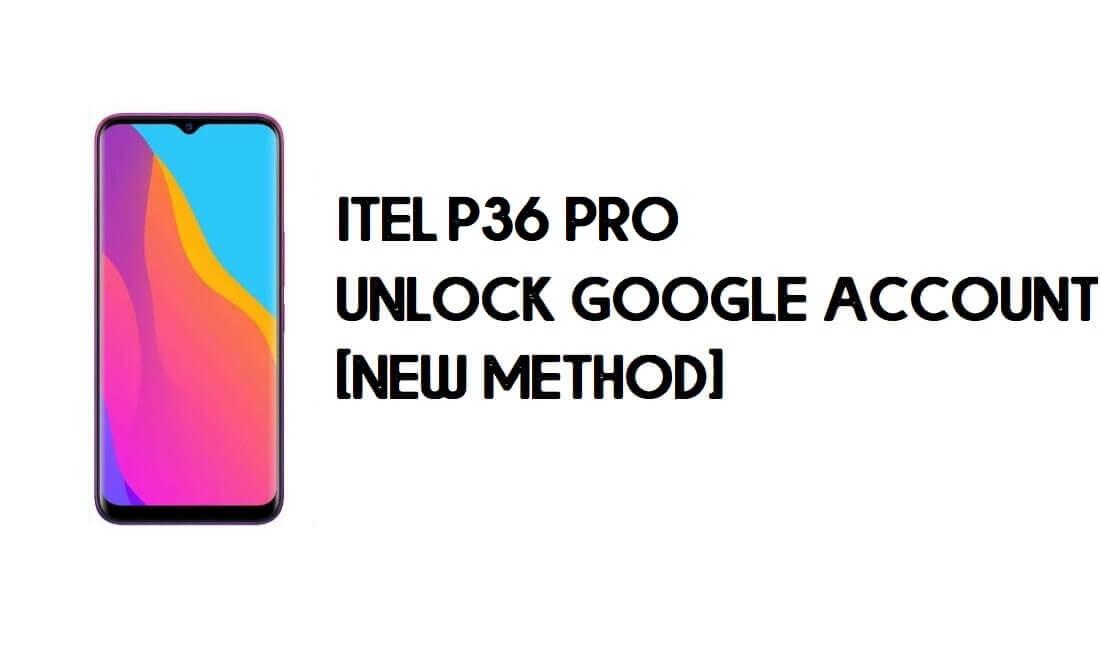 Itel P36 Pro FRP Bypass - Unlock Google Account – Android 9.0 Go