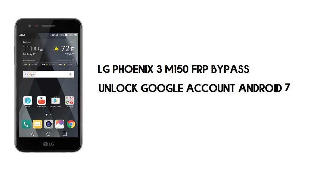 LG Phoenix 3 M150 FRP Bypass Without PC | Unlock Android 7 (In 2mins)