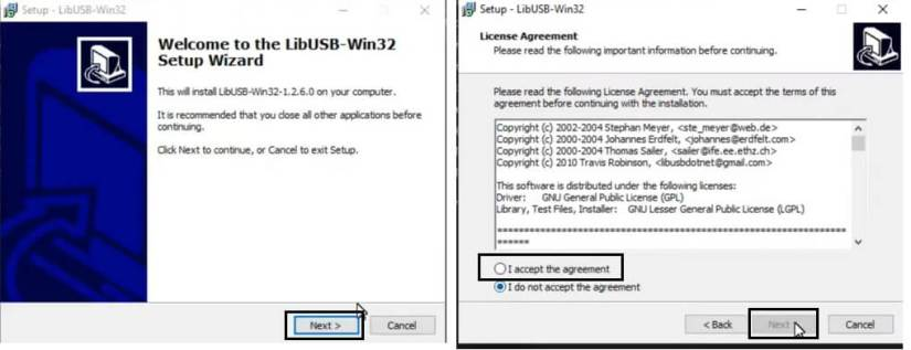 LIBUSB Win32 Driver