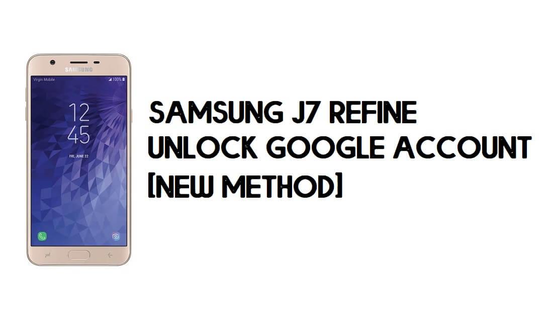 Samsung J7 Refine (J737P) Android 9 FRP Unlock/Google Account Bypass - NO TALKBACK - NO SIM PIN