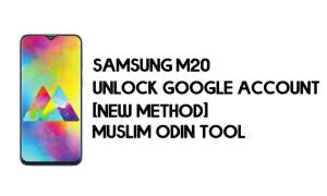 Samsung M20 FRP Bypass - Unlock With Muslim Odin Tool [Android 10]