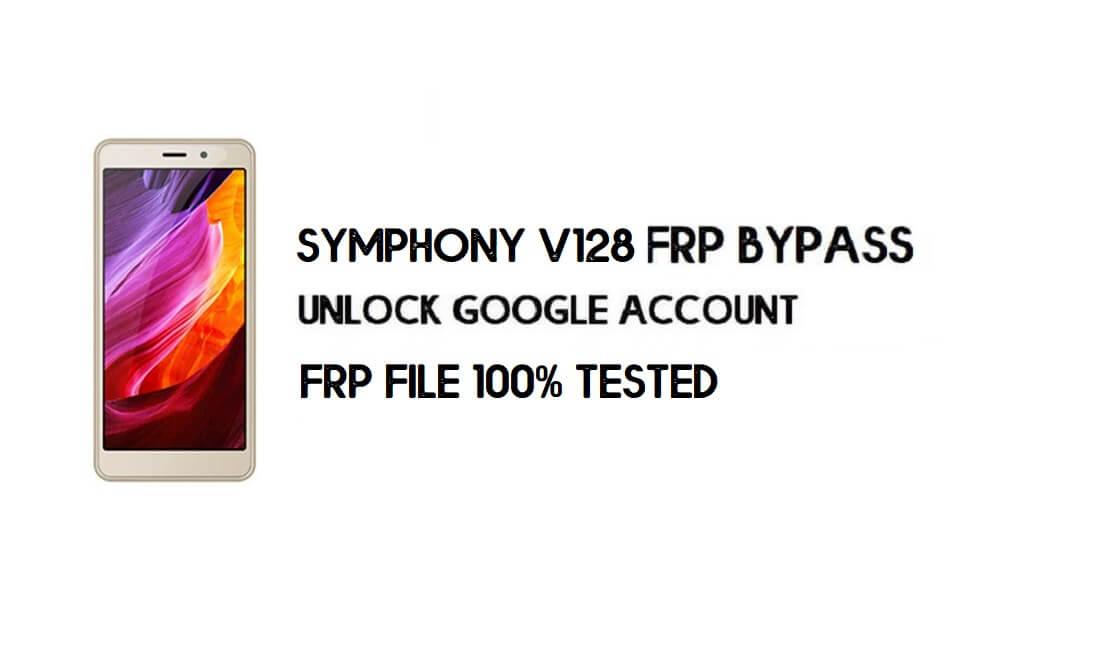 Symphony V128 FRP File & Tool – Unlock Google (Android 8.1 Go) Free