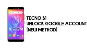 Tecno B1 FRP Bypass - Unlock Google Account – Android 8 (Go) for Free
