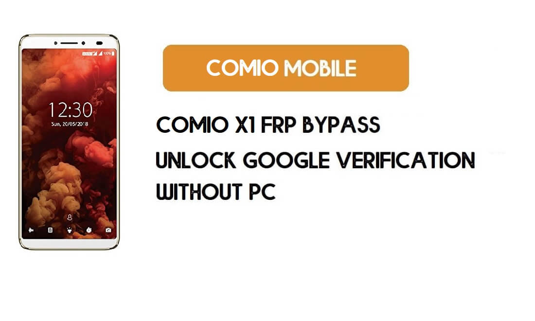 Comio X1 FRP Bypass - Unlock Google Account (Android 8.1) without pc
