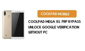 Coolpad Mega 5S FRP Bypass Without PC – Unlock Google Android 9.0