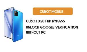 Cubot X20 FRP Bypass Without PC - Unlock Google [Android 9.0] for free