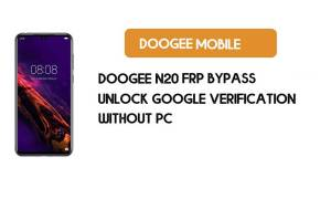 Doogee N20 FRP Bypass Without PC - Unlock Google [Android 9.0] free