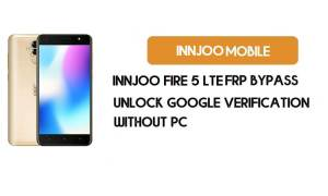 InnJoo Fire 5 LTE FRP Bypass Unlock Google Verification (Without PC)