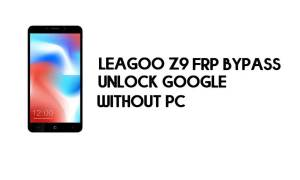 Leagoo Z9 FRP Bypass – Unlock Google Account – (Android 8.1 Go) [Without PC]
