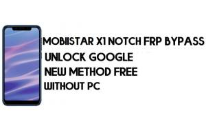 Mobiistar X1 Notch FRP Bypass Without PC - Unlock Google – Android 8.1