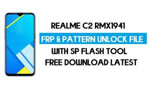 Realme C2 RMX1941 Unlock FRP & Pattern File (Without Auth) SP Tool
