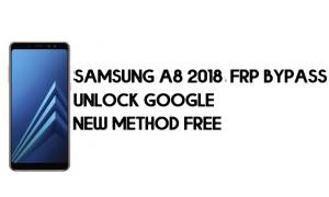 FRP Bypass Samsung A8 2018 Android 9 - Unlock Google [New Method]