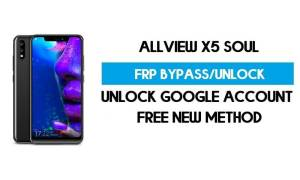 Allview X5 Soul FRP Bypass Android 8.1 Without PC - Unlock GMAIL Lock