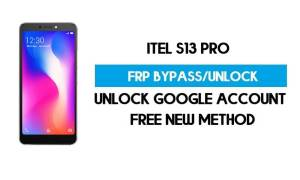 Itel S13 Pro FRP Bypass - Unlock Google Account (Android Go) without pc