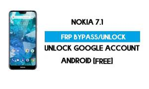 Unlock FRP Nokia 7.1 Android 10 Without PC – Bypass Google Gmail free