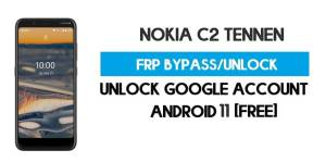 Nokia C2 Tennen FRP Bypass – Unlock Google GMAIL Lock [Android 10] Free New Method (Without PC)
