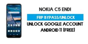 Unlock FRP Nokia C5 Endi – Bypass Google Account [Android 10] Free New Method (Without PC)