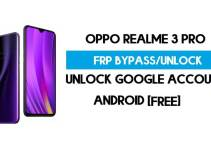 Realme 3 Pro FRP Bypass – Unlock Google Account [FRP Code] 100% Working