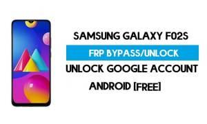 Samsung F02s FRP Bypass - Unlock Google [Android 10] New Method