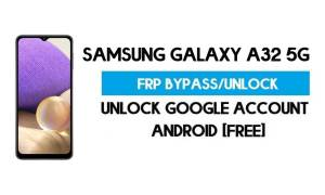 Unlock FRP Samsung Galaxy A32 5G (Bypass SM-A326B Google GMAIL Verification) Android 11 R With Muslim Odin Tool