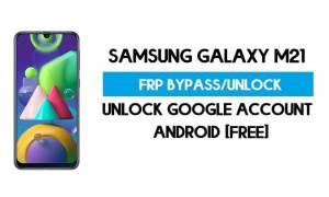 Unlock FRP Samsung Galaxy M21 (Bypass SM-M215F Google GMAIL)
