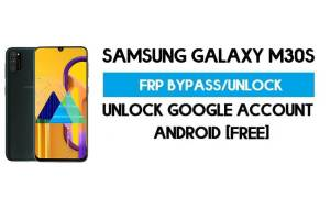 Unlock FRP Samsung Galaxy M30s (Bypass SM-M307F Google GMAIL)