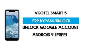 Vgotel Smart 5 FRP Bypass Without PC – Unlock Google Android 9 (Free)