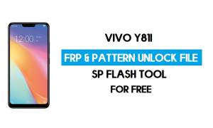 Vivo Y81i FRP Pattern Unlock File (Reset Pattern/Google lock) SP Tool