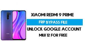 Redmi 9 Prime FRP File (Unlock Google Account) Without Auth [SP Tool]