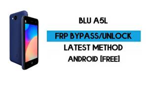BLU A5L FRP Bypass – Unlock Google GMAIL Verification (Android 10 Go) – Without PC