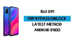 BLU G91 FRP Bypass Without PC - Unlock Google Gmail lock Android 10