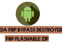 FRP Destroyer XDA by zillinium (All Version) flashable zip File to Remove FRP Lock