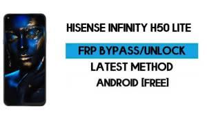 HiSense Infinity H50 Lite FRP Bypass - Unlock Gmail Android 10 Free