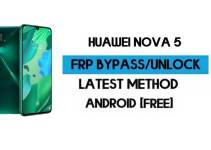 Unlock FRP Huawei Nova 5 | EMUI Android 9 Reset Google GMAIL (Without PC) – 2021