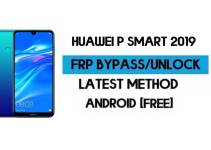 Reset FRP Huawei P smart 2019 | EMUI Android 9 Remove Google GMAIL (Without PC) – 2021