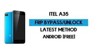 ITel A35 FRP Bypass Without PC - Unlock Google Gmail Lock Android 10