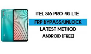 ITel S16 Pro 4G LTE FRP Bypass Without PC - Unlock Google Android 10
