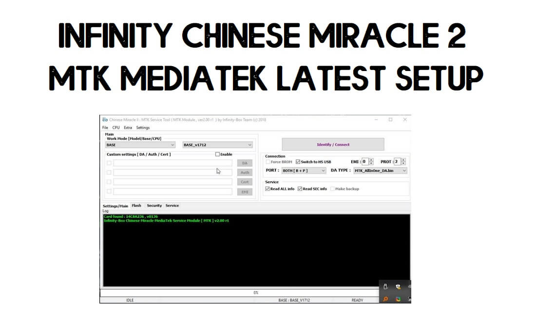 Download Infinity Chinese Miracle 2 MTK V2.23 Latest Update   Free (All Version)