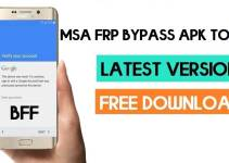 MSA FRP Bypass Application – MSA FRP Bypass Tool (Free Download)