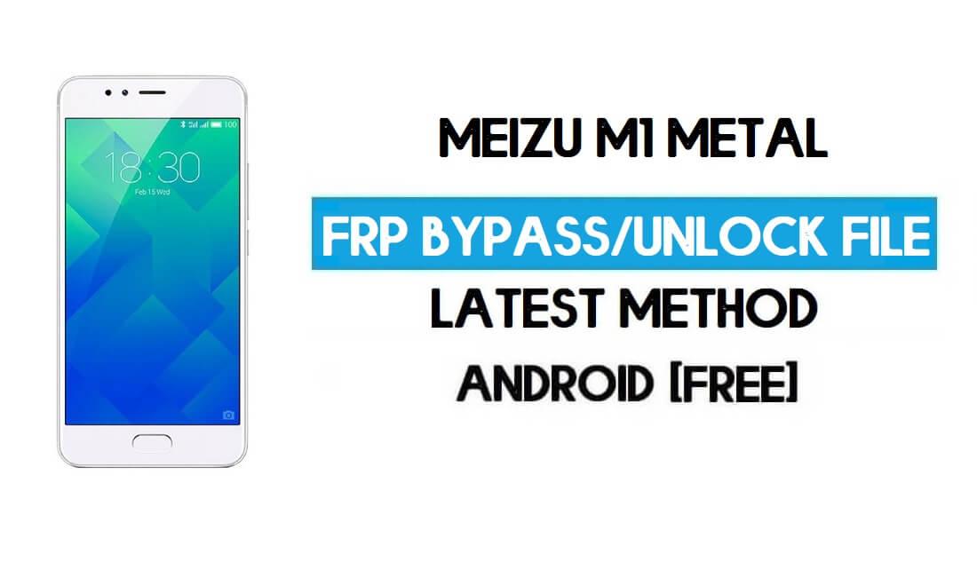 Meizu M1 Metal Unlock File (Bypass FRP Pattern Lock) Free Download