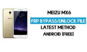 Meizu MX6 FRP File (Unlock Google GMAIL Lock) Free Download