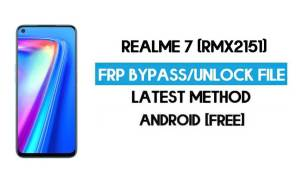 Realme 7 (RMX2151) FRP Bypass File ( Remove Without Auth) SP Tool