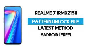Realme 7 RMX1825 Pattern Unlock File - Remove Without Auth - SP Tool